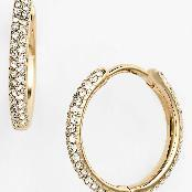 earrings with big hoops